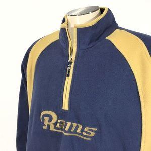 Los Angeles Rams 1/2 Zip Fleece